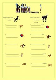English Worksheets: Is this a ....? yes/no