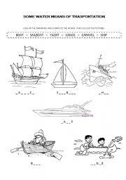 math worksheet : water transportation worksheets for kindergarten  k5 worksheets : Water Worksheets For Kindergarten