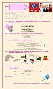 English Worksheets: Don´t Speak by No Doubt