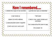 English Worksheets: Getting Organised