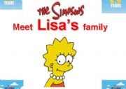 English Worksheet: Family Flashcards The Simpsons