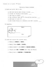 English Worksheet: Muzzy in Gondoland. Episode 2, part 1.