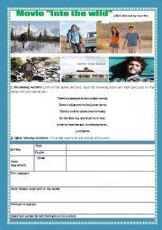English Worksheet: MOVIE