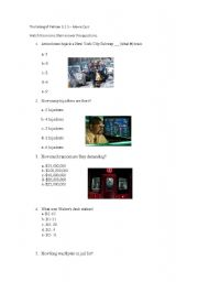 English Worksheets: MOVIE CLASS - The taking of Pelham 1 2 3