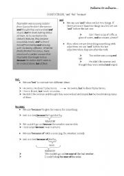 English Worksheets: and-but-because