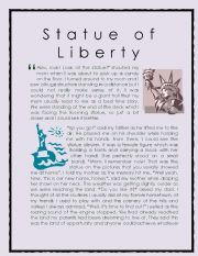 Wonder of the World Story series 7 ( Statue of Liberty)