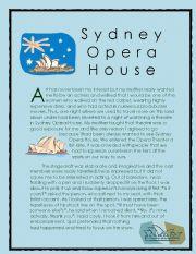 Wonder of the World Story series 9 ( Sydney Opera House)