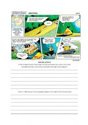 English Worksheet: The Angry Birds Clip 1