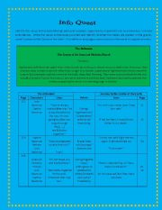 English Worksheets: The Alchemist ( Infor Quest series 2)-Value