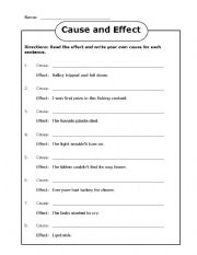 Worksheet Ramona Quimby Age 8 Worksheets english teaching worksheets cause and effect connectors effect