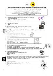 English Worksheet: Great jokes !!! 10 English jokes :)