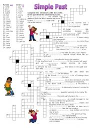 photograph relating to Simple Crossword Puzzles Printable identified as Further than straightforward crossword worksheets