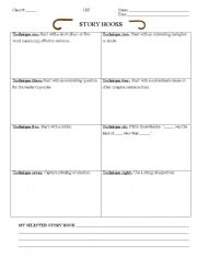 writing hooks worksheet Good writers hook their readers in the very first sentences in this lesson, students learn how to cast an attention-grabbing hook in their writing to effectively.