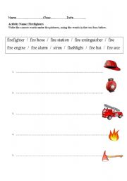 Firefighter Preschool Worksheets http://www.eslprintables.com/printable.asp?id=572905