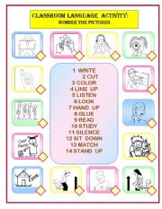 CLASSROOM LANGUAGE MATCHING