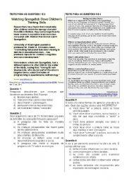 English Worksheets: Simulado ENEM