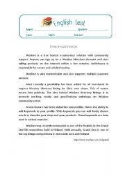 English Worksheets: communication in the professional world