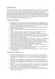English Worksheets: Summary of