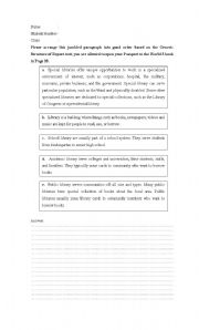English Worksheets: Report Text