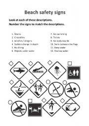 Road Safety Signs Worksheet - TeacherVision