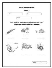 english teaching worksheets food. Black Bedroom Furniture Sets. Home Design Ideas