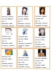 English Worksheets: pair work number 3