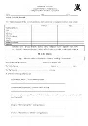 English Worksheets: Reading Comprehension, Grammar and Vocabulary