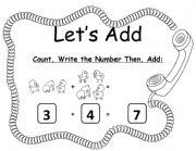 English Worksheets: Addition