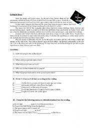 English Worksheets: Futuro