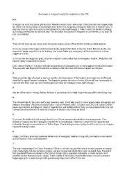 English Worksheet: Reading for FCE
