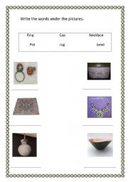 English Worksheets: crafts
