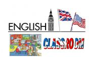 English Worksheets: Label for the door