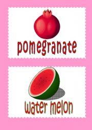 fruit flash-cards 2