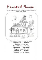 Haunted House 575203 on how to make a paper