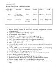 bec upper intermediate short vocabulary test esl worksheet by ciciban. Black Bedroom Furniture Sets. Home Design Ideas