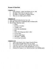 Worksheet Because Of Winn Dixie Worksheets english teaching worksheets because of winn dixie quiz 1