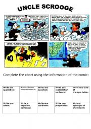 English Worksheets: A GREAT COMIC