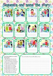 photo relating to Story Sequencing Cards Printable known as Tale sequencing worksheets