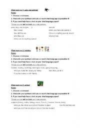 English Worksheets: Chat language part 3
