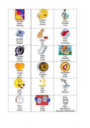 English Worksheets: Guess the words