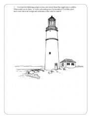 English Worksheets: The Lighthouse