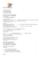 English Worksheet: WHO SAID- HANNAH MONTANA
