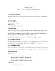 English Worksheet: CAE- Speaking exam: tips and useful phrases
