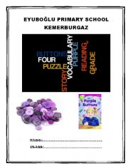 English Worksheets: PURPLE BUTTONS