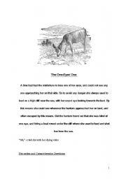 English Worksheets: The Doe
