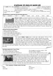 English Worksheets: Castles in Britain