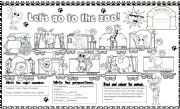 English Worksheets: let�s go to the zoo