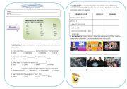 English Worksheet: TV in Peru