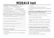 MODAL TEST