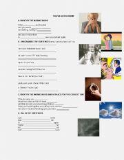 English Worksheet: SONG: YOU´VE GOT A FRIEND